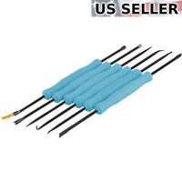6PC Professional Solder Assist PCB Disassembly Repair Replace Capacitor Tools