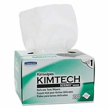Kimwipes Delicate Task Kimtech Science Wipers (34155), White, 1-Ply, 60 Pop-Up