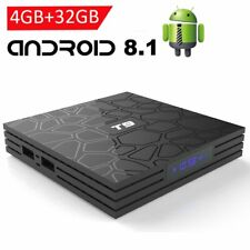 T9 Android 8.1 Smart TV BOX RK3328 Quad Core 4GB/32GB BT4.0 USB3.0 WiFi 4K Media
