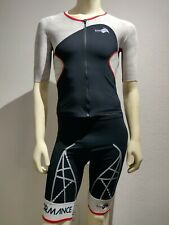 Kiwami Spider LD Aero  One-Piece Sleeved Trisuit Men's size Large (MSRP $325)