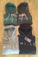 Jack Wills Womens Hunston Hoodie Hoody.Navy,Grey,Green.8,10,12,14.BNWT.RRP £59.9