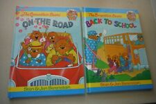 2-The Berenstain Bears Back to School & On the Road, (Family Time Books)