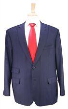 BRIONI Very Recent Bracciano Navy Birdseye 150's Wool Peak Lapel 2-Btn Suit 46R