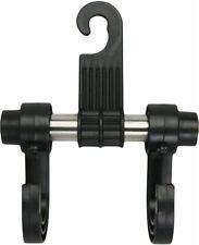 Streetwize Black Bag Umbrella & Coat Holder Interior Car Seat Double Hook Hanger