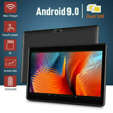 10.1 WIFI/4G-LTE 64G Tablet Android 9.0 HD PC bluetooth...