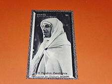 CHROMO PHOTO CHOCOLAT SUCHARD 1930 COLONIES MAROC AFRIQUE PORTRAIT DU GLAOUI