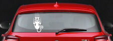 15x30 cm. New Design Funny Sticker cat feelling Decorate on the car