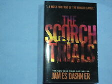 The Scorch Trials Book 2 in The Hunger Games by James Dashn ER  Read Once As New