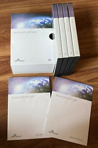 Silva Life System (The Silva Method) Full 11 CD Set WITH Workbook and Manual.