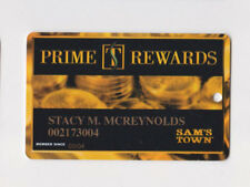 Players Slot Club Rewards Card Sam's Town Hotel & Gambling Hall Las Vegas Casino