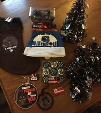 Disney Star Wars Christmas Decorations Bauble,Tree,Stocking,Hat,R2D2,Tinsel,Sack