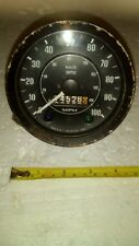 Smiths 100 MPH Speedometer and Brackets