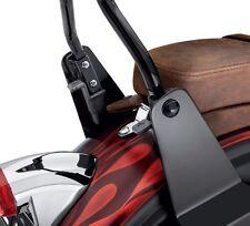 Harley Davidson DYNA Adjustable Black Reclining Sideplates 52300090