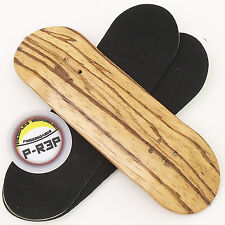 Peoples Republic - 30mm Wooden Fingerboard Deck - Zebra