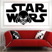 Star Wars Espacio Barcos,Inspirado Dormitorio,Vinilo Adhesivo Pared Adhesivo