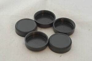 5 X 39mm  L39 Plastic Screw Mount Rear Lens Caps for Leica, M39