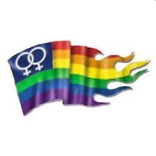 Gay Pride Lesbian Flag Bumper Sticker