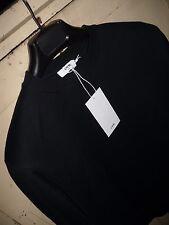 CMMN SWDN Noah Sweatshirt in Navy Blue, Size Small
