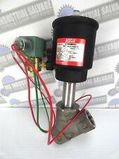 """Asco - 8290A053 Piston Valve w/ attached Asco 8320G13 Solenoid Valve, 1"""" (New)"""
