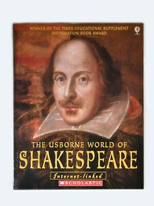 The Usborne World Of Shakespeare Paperback In Good Condition