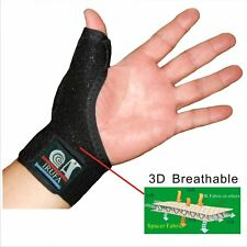 IRUFA 3D Breathable Thumb Splint Brace Support Stabilizer Spica Trigger Finger