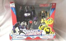 Transformers Animated Target Exclusive Shockwave VS. Bumblebee