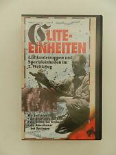 VHS Video Kassette Elite Einheiten Luftlandetruppen Spezialeinheiten 2 Weltkrieg