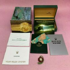 GENUINE ROLEX SUBMARINER 16610 Watch box case Booklet Calendar 68.00.01 B4332