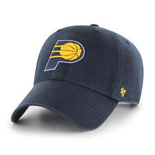 7e23c471aad Indiana Pacers 47 BRAND Navy Clean up Adjustable Strapback Slouch Hat Cap