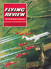 Flying REVIEW INTERNATIONAL 1967 AUG ISRAELE MAGAZINE il primo FIGHTERS,