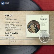 Carlo Maria Giulini - Verdi Requiem  EMI Masters [CD]