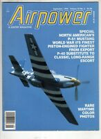 Airpower Airplane Magazine Sept 1995 P-51 Mustang  Wartime Color Photos