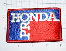 HONDA PRO Vintage Iron-On Embroidered Clothing Patch Applique Jacket Hat Vest