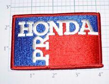 HONDA PRO Vintage Iron-On Embroidered Clothing Patch Applique Jacket Hat Vest