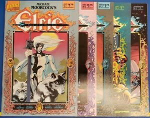 ELRIC WEIRD OF THE WHITE WOLF 1-5 FIRST COMIC SET COMPLETE ROY THOMAS 1986 VF/NM