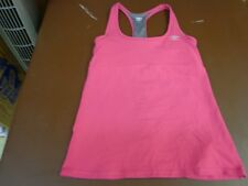 Umbro  Razor Back Athletic Yoga Workout Bra Shirt Pink  Size  Large  B2