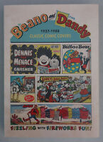 Beano and The Dandy Classic Comic Covers 1937-1988 SIGNED BEANO EDITOR