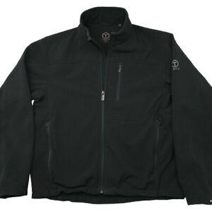 Tumi Tech Men's Large Black Soft Shell T Jacket Style L8PKVN