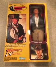"1981 Vintage 12""  Indiana Jones Large Doll Kenner Raiders Lost Ark MIB Figure"