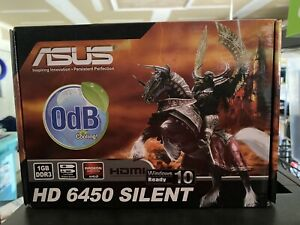 ASUS AMD HD 6450 SILENT 1GB DisplayPort to HDMI Slim SFF Video Card New