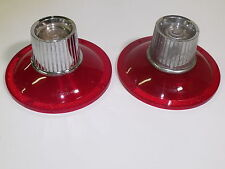 **PAIR**STOP & TAIL LAMP LENSES WITH BACK-UP ASSY. 1964 GALAXIE (EXC. 500 &500XL