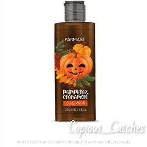 NEW!! Farmasi Pumpkin & Cinnamon Body Wash ~7.6 fl oz  BODY WASH