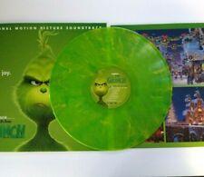Dr. Seuss The Grinch Vinyl LP Record Green Colored Swirl Christmas Danny Elfman