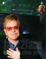 "BILLY JOEL & ELTON JOHN 2010 ""FACE 2 FACE"" TOUR PROGRAM CONCERT BOOK-EX 2 NMT"
