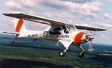 PZL-104M Wilga 2000 Warszawa Airplane Desk Wood Model Small New
