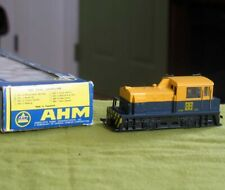 AHM HO Santa Fe 332 Plymouth MDT Diesel Switcher in Box RUNS LIGHTS 5001 C