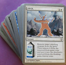 UNHINGED 1x Common Magic Complete NEAR MINT Cards (1x 55 Comuni Playset Set) C.C