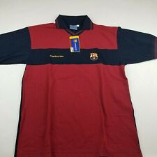 FC Barcelona Polo Shirt Mens XL Product Official Soccer Jersey FCB NWT