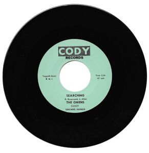 The Omens Searching / Girl Get Away 60's Garage Rock Reissue Listen