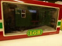 LGB 4039 Fakultativwagen Zugbegleit- Gepäckwagen der Spreewaldbahn,Top